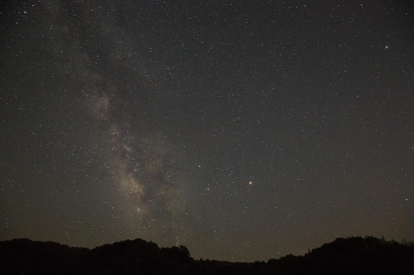 火星大接近の夜に